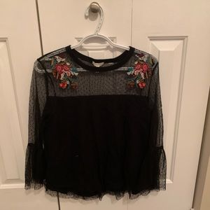 Embroidered shirt from maurices